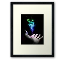 You have the power Framed Print