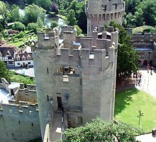 Warwick Castle from the high Tower by Margaret Zita Coughlan