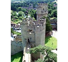 Warwick Castle from the high Tower Photographic Print