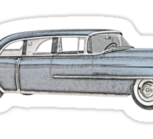 1955 Cadillac - Series 75 Sticker