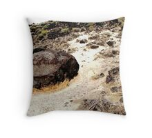Map Rock Throw Pillow