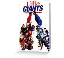 Little Giants Greeting Card