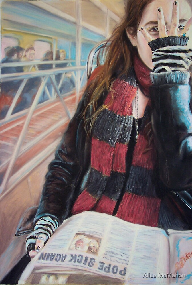 """""""Ticket to Ride"""" by Alice McMahon"""