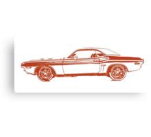 1971 Dodge Challenger Canvas Print