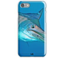 Underwater Juvie Black Marlin iPhone Case/Skin
