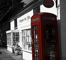 Telephone Box - willingdon Post Office by Paul Morris