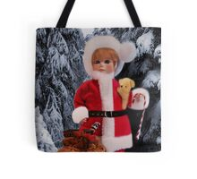 ❤ 。◕‿◕。 LITTLE MISS SANTA AND A SACK FULL OF GIFTS ❤ 。◕‿◕。  Tote Bag