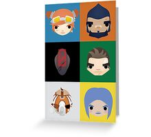 Vault Hunters Greeting Card