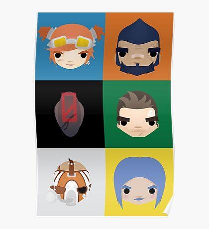 Vault Hunters Poster