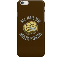 Hail the Helix Fossil iPhone Case/Skin