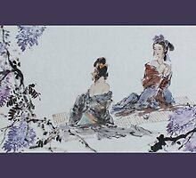 Fragrant Ladies by aplcollections