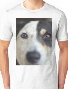 Peering Pooch Unisex T-Shirt