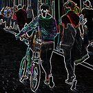 Neon bike by Vicent Alcaraz Coll