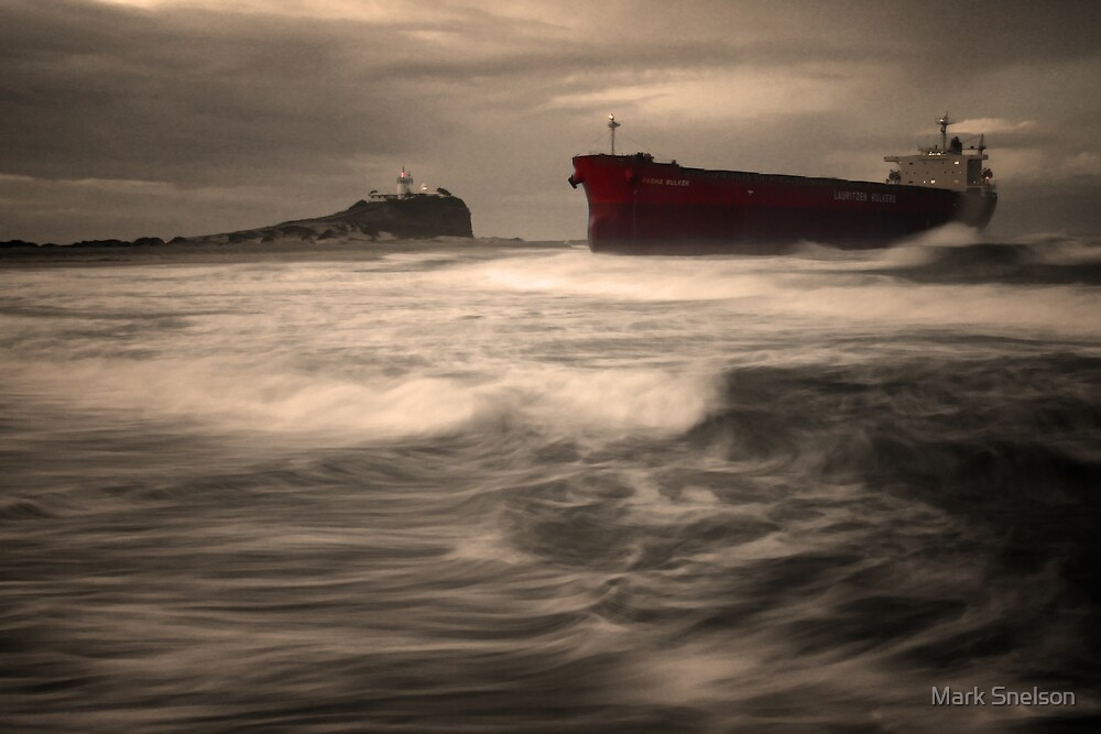 Pasha Bulker Aground 2 by Mark Snelson