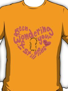 Do I Wanna Know: Keyhole Heart T-Shirt