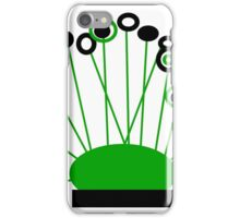 Art on a pillow, POPPY-LOPS collectable gifts iPhone Case/Skin
