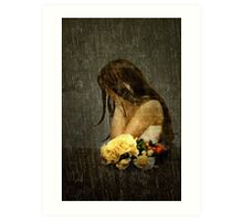 Lonely Bride... Art Print