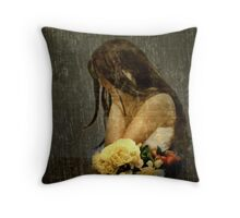 Lonely Bride... Throw Pillow