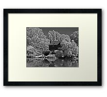Wicked Storm Approaching Framed Print