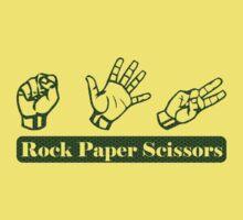 Ro Sham Bo - Rock Paper Scissors Kids Clothes