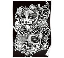 Feminine Tattoo Design Poster
