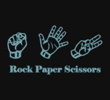Ro Sham Bo - Rock Paper Scissors Baby Tee