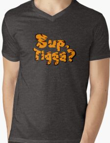 Sup, Tigga? Mens V-Neck T-Shirt