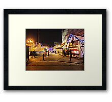 Last Minute Shopping : Chester Town Hall Square Framed Print