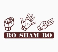 Ro Sham Bo - Rock Paper Scissors Kids Clothes