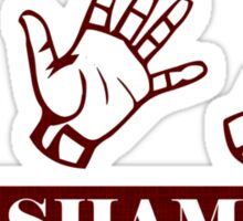 Ro Sham Bo - Rock Paper Scissors Sticker