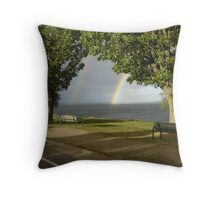 none Throw Pillow