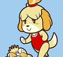 Isabelle's Day Off by amandaflagg