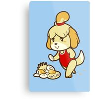 Isabelle's Day Off Metal Print