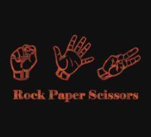 Ro Sham Bo - Rock Paper Scissors Kids Tee