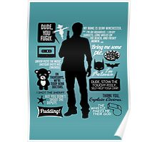 Dean Winchester Quotes Poster