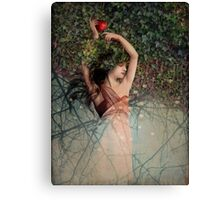 Snow White (Schneewittchen) Canvas Print
