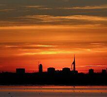 Sunset 3 11-12-07 by Sharon Perrett