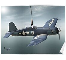 South Pacific Corsair  Poster