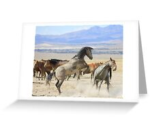 Dances with Hooves Greeting Card