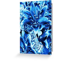 Crying the Blues... Greeting Card