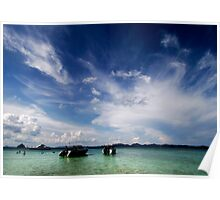 Tropical Waters Poster