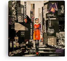 Fashion street Canvas Print