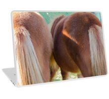 horse pony  in the farm Laptop Skin