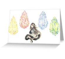 Bravely Default Watercolor Greeting Card