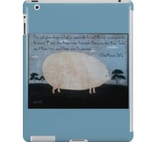 Pearls to pigs. iPad Case/Skin