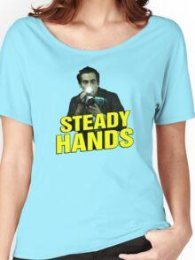 NIGHTCRAWLER - STEADY HANDS  Women's Relaxed Fit T-Shirt