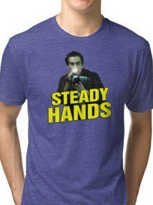 NIGHTCRAWLER - STEADY HANDS  Tri-blend T-Shirt