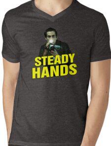 NIGHTCRAWLER - STEADY HANDS  Mens V-Neck T-Shirt