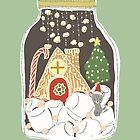 Christmas Terrarium by carla zamora