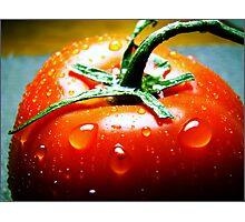 Juicy Tomato Photographic Print